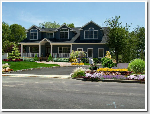 new construction landscaping ideas
